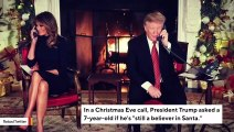 Internet Loses It After Trump Asks 7-Year-Old If He 'Still' Believes In Santa