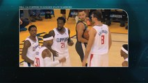 Basketball NBA: La Clippers VS Golden State Warriors, accrochage lors du match