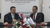 """Tarım ve Orman Bakanı Pakdemirli Kkktc'de- Tarım ve Orman Bakanı Bekir Pakdemirli: - """"Biz Bu..."""