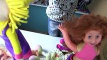 Hamur Abla'nın Tüm Büyük Oyuncak Bebekleri Doktorculuk Oynuyoruz