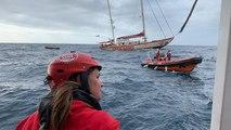 Weihnachten auf dem Rettungsschiff: Die Open Arms auf dem Weg nach Spanien