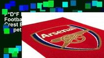 P*D*F D.O.W.N.L.O.A.D Official Football Floor Rug Mats Crest Bed Team Gift Bedroom Carpet Arsenal