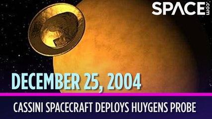 OTD in Space - Dec. 25: Cassini Spacecraft Deploys Huygens Probe Above Titan