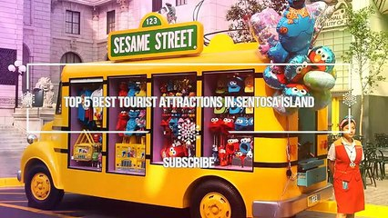 Top 5 Best Tourist Attractions in Sentosa Island  Singapore Travel Guide