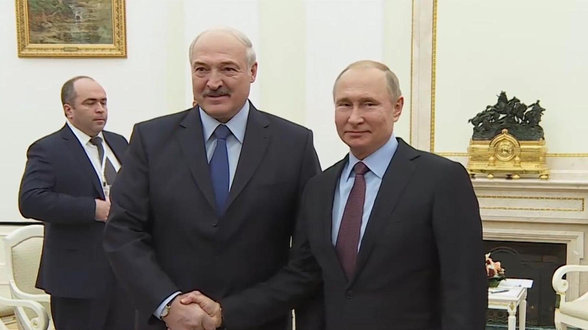 مشاكل سياسية وتجارية تثقل العلاقات بين بوتين ولوكاشينكو