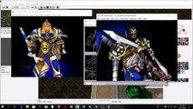 Warcraft 3: Ujimasa Makes the Silver Hand Knight Model Part 3