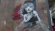 Banksy interpelle la France sur les migrants