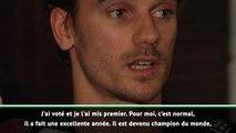 """Meilleur joueur français de l'année - Griezmann: """"Mbappé le mérite"""""""