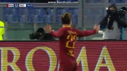 Super  Super   Goal  N. Zaniolo  AS  Roma  3  -  0  Sassuolo  26.12.2018  HD