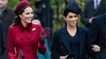 Meghan Markle And Kate Middleton Were All Smiles At Christmas