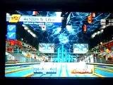 4x100 mètres nage libre Mario & Sonic JO