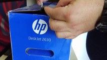 HP DeskJet 2630 WIFI Yazıcı - Kutu Açılımı
