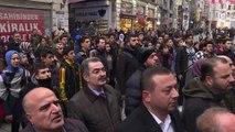 Mehmet Akif Ersoy Mısır Apartmanı önünde anıldı - İSTANBUL