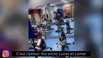 C'est l'amour fou entre Lucas et Lemar, Pogba fait un check de folie pour Lingard