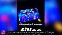 Kurzawa félicite les championnes d'Europe, Top célébration pour Ferland Mendy à l'OL