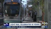 Free light rail rides on Thursday to celebrate anniversary