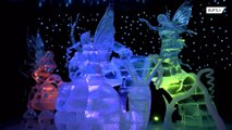 300 tonnes of ICE-stonishing sculptures sparkle at German exhibition