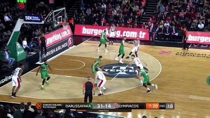 EuroLeague 2018-19 Highlights Regular Season Round 15 video: Darussafaka 79-75 Olympiacos
