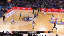 FC Barcelona Lassa - Anadolu Efes Istanbul Highlights | Turkish Airlines EuroLeague RS Round 15