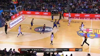 EuroLeague 2018-19 Highlights Regular Season Round 15 video: Barcelona 80-65 Efes