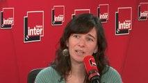 """Valérie Manteau, auteure : """"Marseille traverse une crise sociale, on en est à 1600 personnes délogées, et tout cela est géré dans une panique et une psychose qui ne s'apaisent pas""""."""