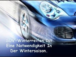SUV-Winterreifen Ist Eine Notwendigkeit In Der Wintersaison.