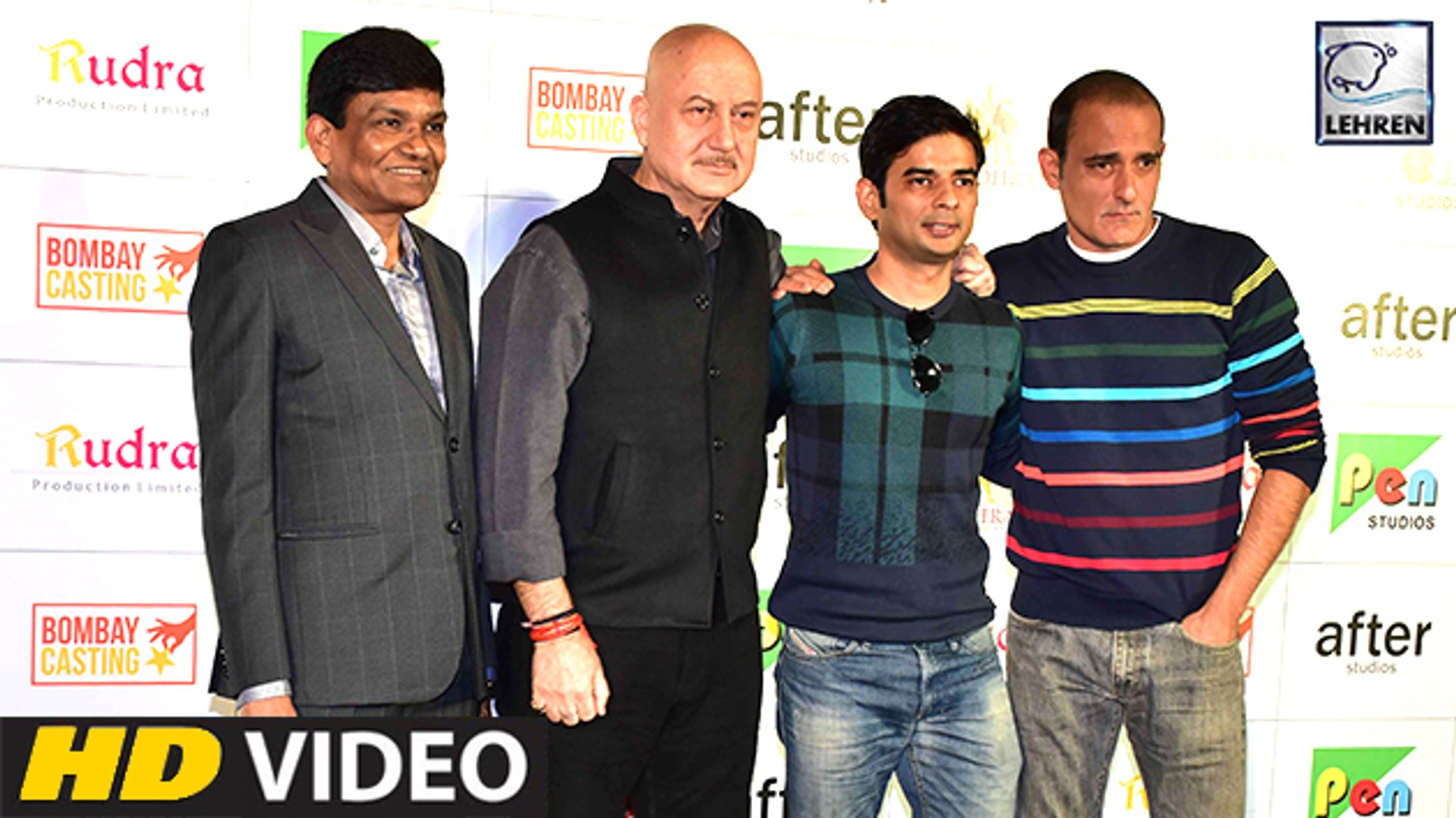 The Accidental Prime Minister Official Trailer Launch | Anupam Kher, Akshaye Khanna