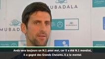 Abu Dhabi - Djokovic : ''Murray sera toujours un N.1 pour moi''