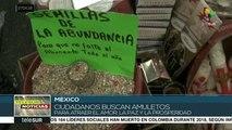 Mexicanos preparan rituales para recibir el año nuevo