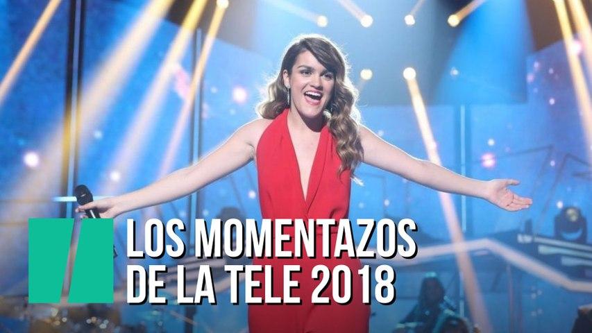 Los momentazos de la tele 2018