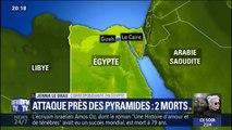 En Égypte, une explosion près des pyramides de Gizeh a fait deux morts