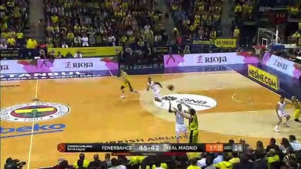 EuroLeague 2018-19 Highlights Regular Season Round 15 video: Fenerbahce 65-63 Madrid