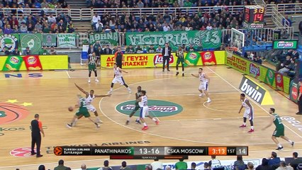 EuroLeague 2018-19 Highlights Regular Season Round 15 video: Panathinaikos 96-84 CSKA