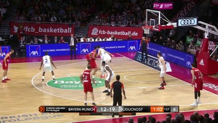 EuroLeague 2018-19 Highlights Regular Season Round 15 video: Bayern 93-88 Buducnost
