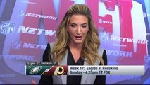 Cynthia Frelund reveals the X-factor in Eagles-Redskins Week 17 matchup
