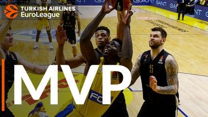 Round 15 MVP: Johnny O'Bryant, Maccabi FOX Tel Aviv