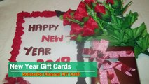 New year gifts cards 2019 | Handmade cards DIY New year 2019 Gifts Cards | New Year Cards 2019 | DIY Room Decorations
