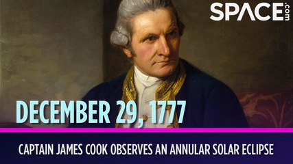OTD in Space - Dec. 29: Captain James Cook Observes an Annular Solar Eclipse
