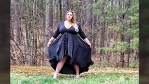 Amazing fashion style with beautiful fashion model - new stylish plus size fashion #10