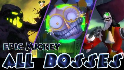 Epic Mickey All Bosses | Final Boss (Wii)