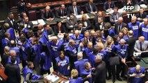 Deputados italianos aprovam orçamento de 2019