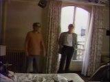 Johnny Hallyday et Jean-Luc Godard-tournage Detective 1984