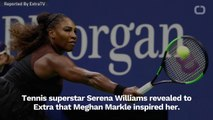 Serena Williams Keeps In Touch With Meghan Markle Through Fashion