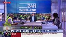 Une journaliste du Parisien découvre en direct l'incendie devant son siège (LCI,29/12/18,19h25)