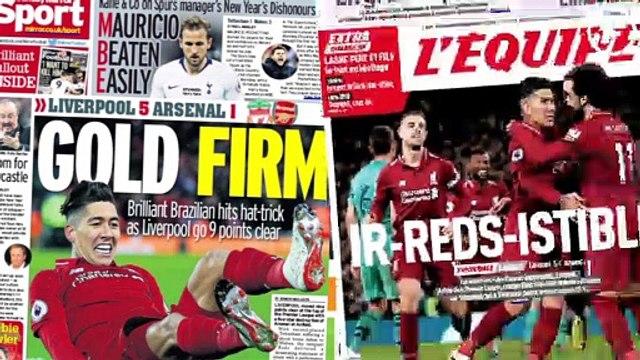 CR7 et Messi affolent les compteurs, Liverpool ébahit la presse anglaise