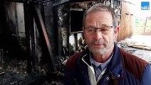 Incendie de la guinguette de Pombonne à Bergerac