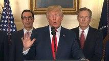 """Trump: """"Tutta colpa dei democratici se muoiono i bimbi dei migranti"""""""