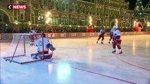 Vladimir Poutine participe au traditionnel match de hockey du nouvel an