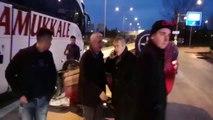 Bursa İnegöl'de Takla Atan Otomobildeki Kadın Yolcu Yaralandı