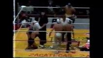 El Hijo del Santo/Octagon/Rey Misterio Jr. vs Blue Panther/Fuerza Guerrera/Psicosis (AAA April 23rd, 1995)